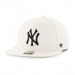 New York Yankees Cap | No Shot Natural/Schwarz Cap | Original '47™ MLB YANKEES Captain Basecaps Snapbacks