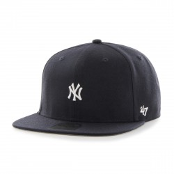 Yankees Mini 3D Logo Cap | No Shot Navy/Grau/Weiß Cap | Original '47™ MLB YANKEES Captain Basecap