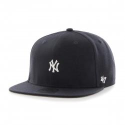 Yankees Mini 3D Logo Cap | No Shot Navy/Grau/Weiß Cap | Original '47™ MLB YANKEES Captain Basecaps Snapbacks