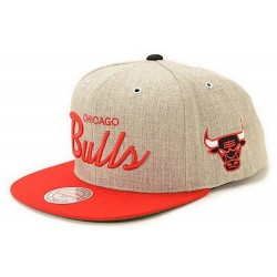Chicago Bulls NBA Logo Cap | Mitchell & Ness Bulls Snapback Kappe