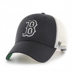 Boston Red Sox Trucker Cap | Grau/Weiß/Grün | Original '47™ MLB RED SOX Basecaps Snapbacks Mützen Hats