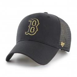 Boston Red Sox Trucker Cap | Schwarz/Gold | Original '47™ MLB RED SOX Basecaps Snapbacks Mützen Hats