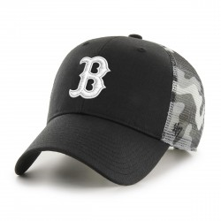 Boston Red Sox Trucker Cap  SchwarzCamouflageWeiß  Original '47™ MLB RED SOX Basecap - Sylt Brands Online Shop 1