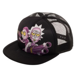 Rick and Morty Trucker Cap | Ricks Guns Trucker Snapback Kappe Mütze