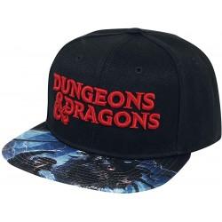 Dungeons & Dragons Cap | D&D Logo Männer Cap schwarz | One Size
