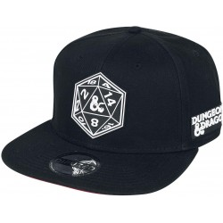 Dungeons & Dragons Caps Merchandise | D&D Snapback Cap Mütze Hat