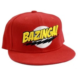 Bazinga Sheldon Cap | The Big Bang Theory Kult Snapback Caps