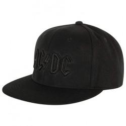 AC/DC Snapback Cap | Lizenzierte AC-DC 3D Logo Snapback Caps Kappen Mützen Hats