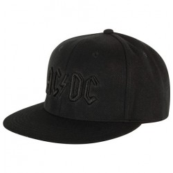 AC/DC Stiff Upper Lip Cap | Lizenzierte 3D Logo Snapback Caps