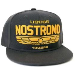 Alien Nostromo 180286 Cap | Aliens Quadrilogy Dunkelgrau Snapback Caps Kappen Hats