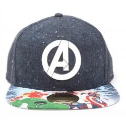 Marvel Snapback Cap | Avengers 3D Logo Caps mit Zertifikat