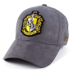 Hufflepuff Leder Cap | Harry Potter College Baseball Caps