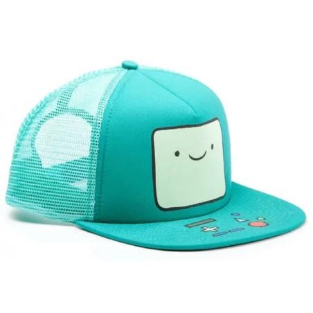 BMO Trucker Cap   Adventure Time Bemmo Snapback Truckercap