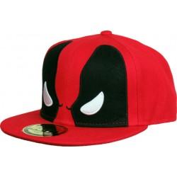 Deadpool MASK Cap | Marvel BIG EYE Snapback Caps Kappen Basecaps Mützen