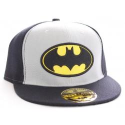 Batman Logo Cap | DC Comics Batman Snapback Cap Grau