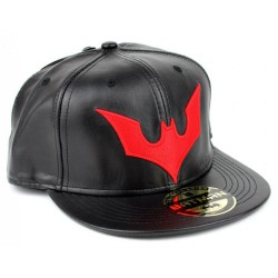 Batman Beyond Cap | DC Comics Batman Beyond Black/Red Snapback Cap