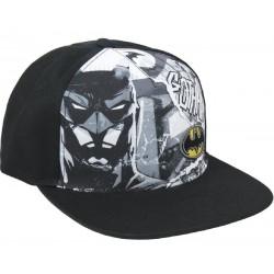 Batman Gotham Cap | DC Comics Snapback Caps Kappen mit Mini Logo