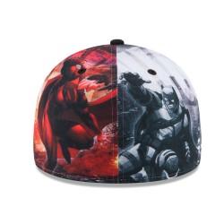 Batman vs Superman Full Cap | DC Comics New Era 9FIFTY Größe 7 Snapback Caps 2