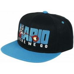 Super Mario Cap | Here We Go Nintendo Mario Logo Snapback Caps Mützen