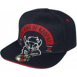 Bowser Biker Cap | Super Mario The King Of Koopas Bowser Merch Snapback Kappe
