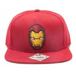 Iron Man Avengers KappenMützen Marvel Comics Deluxe Snapback Cap Kappe - REBEL