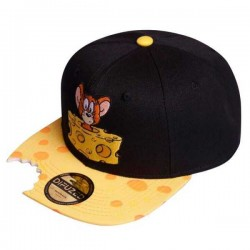 Tom and Jerry Snapback Cap  Disney Tom & Jerry Basecaps Kappen Hats Mützen