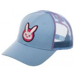 Overwatch Bunny Cap Blau | Original OWL Overwatch Snapback Caps Kappen Mützen