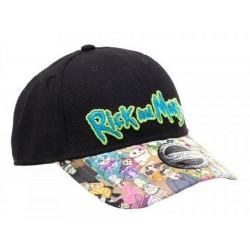 Rick And Morty Family Cap| Rick & Morty Banana Snapback Caps Basecaps Kappen Mützen