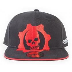 Gears of War Snapback Cap | GOW 5 Red Helmet Baseball Caps Kappen Snapbacks Mützen Hats