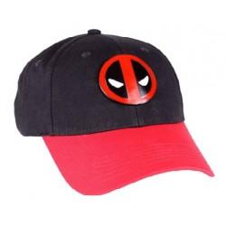 Deadpool Baseball Cap  Marvels Deadpool Kappe Mütze Basecap mit Metal Logo