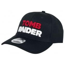 Tomb Raider Logo Cap  Lara Croft Baseball Cap Kappe Snapback Mütze