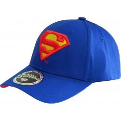Superman Herren Basecap  DC Comics Superman Snapback Cap Kappen Hats Mützen mit 3D Logo