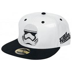 Stormtrooper Leder Cap | Star Wars Galactic Empire Snapback Caps Kappen Mützen