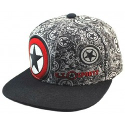 Captain America Cap - Marvel Comics Team Civil War Snapback Caps, Mützen & Kappen - CAPTAIN AMERICA MCU Avengers Online Shop