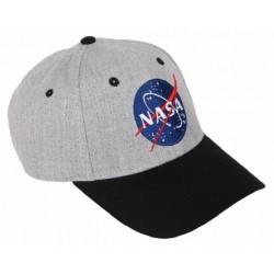 NASA Gray/Black Cap | Nasa Basecaps Snapback Caps Kappen Baseball Caps Mützen Hats