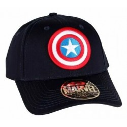 Captain America Base Cap | Marvel Comics Baseball Caps Basecaps Snapbacks Kappen Mützen