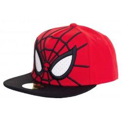 Spiderman Mesh Eyes Cap  Marvel Comics Spider-Man Snapback Caps Kappen Mützen Hats