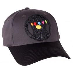 Thanos Baseball Cap | Marvel Thanos MCU Avengers Snapback Caps Kappen Mützen Hats