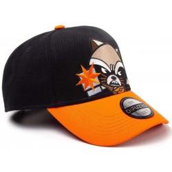Rocket Raccoon Cap | Marvel Rocket MCU Avengers Snapback Caps Kappen Mützen Hats