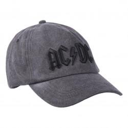 AC/DC Man in Black 1980 Dad Cap | Lizenzierte AC-DC 3D Logo Snapback Caps Kappen Mützen Hats