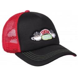 Friends Kult Trucker Cap | Lizenzierte F.R.I.E.N.D.S. Snapback Caps Kappen Mützen Hats