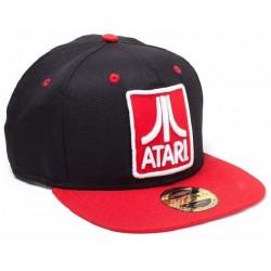 Atari Classic Logo Cap | Lizenzierte ATARI Home Computer Snapback Caps Kappen Mützen Hats