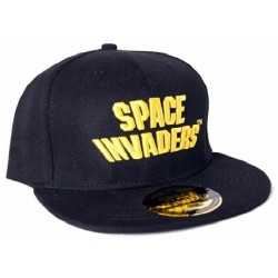 Space Invaders Logo Snapback Cap | Lizenzierte ATARI Space Invaders Snapback Caps Kappen Mützen Hats