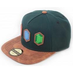 The Legend of Zelda Rupee Snapback Cap  Nintendo Zelda Caps Kappen Baseball Caps Mützen