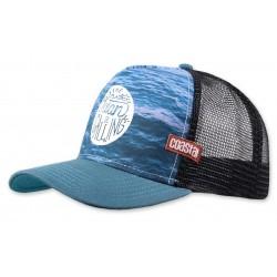 OCEAN CALLING Surfer Trucker Cap  COASTAL Ocean Calling Trucker Caps Kappen Basecaps Mützen