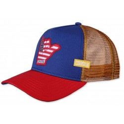 SHAKA Surfer Trucker Cap  COASTAL Shaka Trucker Caps Kappen Basecaps Mützen Snapbacks Hats