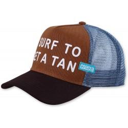 GET A TAN Surfer Trucker Cap  COASTAL I Surf To Get A Tan Trucker Caps Kappen Basecaps Mützen Snapbacks