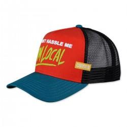 DONT HASSLE Surfer Trucker Cap | COASTAL Dont Hassle Im Local Trucker Caps Kappen Basecaps Mützen Hats Snapbacks