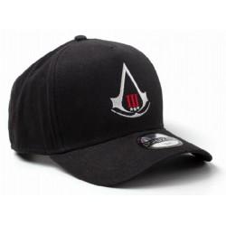 Assassins Creed 3 Baseball Cap - Schwarz | UBISOFT Originale ASSASSINS Basecaps Snapbacks Mützen Hats