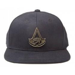 Assassins Creed Logo Snapback Cap - Schwarz | UBISOFT Originale ASSASSINS Basecaps Snapbacks Mützen Hats